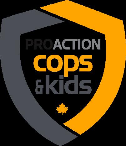 ProAction Cops & Kids Logo